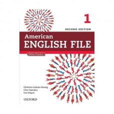 American English File 2nd 1 SB+WB+2CD+DVD