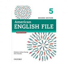 American English File 2nd 5 SB+WB+2CD+DVD
